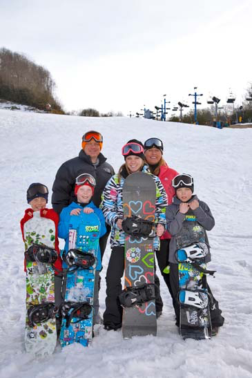 , Kids Ski Free Program, Creekwood Village Resort